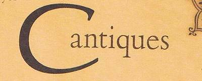 Cantiques Collectibles