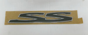 Genuine-Holden-New-LH-Rear-Door-SS-Badge-suits-VE-SS-Commodore