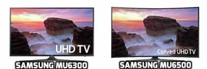 "SPRING sale - NEW Samsung 65"" 4K UHD HDR FLAT & CURVED TVs"