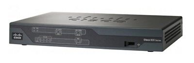 Cisco 887VA-K9 Router VDSL/ADSL modem LAN Ports Multi-mode Wireless N 300Mbs ()