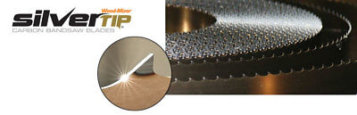 "12/' x 1.25/"" x .042/"" x 7//8 GT Carbon Steel Wood Mill Band Saw Blade 144/"""