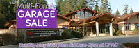 Get a Table: Huge Multi-Family Garage Sale in Colwood - May 24