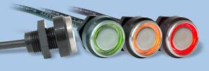 iButton probe/reader bicolour LED stainless steel