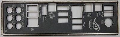 ASUS Rampage III Formula Motherboard  I/O IO Shield Plate New