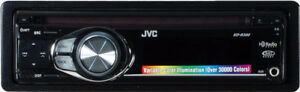 JVC KD-R218 Manuals USB  MP3 AUX AM FM