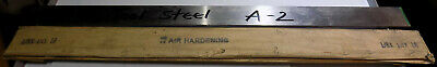 A2 Air Hardening Tool Steel Ground Flat Stock 18 Thick X 1-14 Wide X 18 Long
