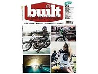 WANTED - Built ( motorcycle ) magazine - Issue 3