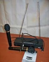 Two karaoke wireless microphone