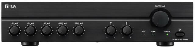 TOA Electronics A2030 100V Line 30W Professional Series Amplifier
