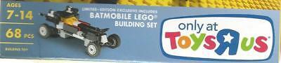"LEGO LIMITED EDITION MINI BATMOBILE CAR TOY ""R"" US EXCLUSIVE ✔☆NEW☆✔ RARE"