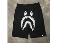 Bape black shorts undefeated