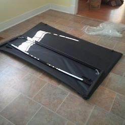 Tri-Fold Tonneau Cover for 5.7 ft Box