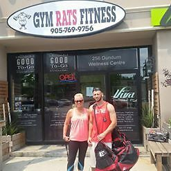 GYM RATS FITNESS - DOWNTOWN HAMILTON - 256 DUNDURN STREET SOUTH