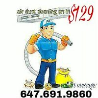 LIMITED OFFER!! AIR DUCT CLEANING+ALL VANTS+FURNACES IN JUST$129