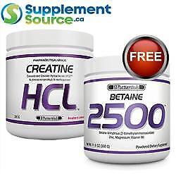 .SD Pharmaceuticals CREATINE HCL, 300g w Betaine