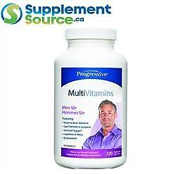Progressive MULTIVITAMIN MEN 50+, 120 Caps