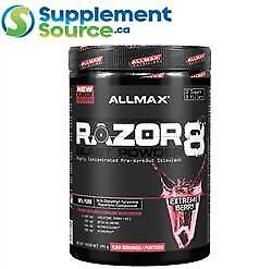 Allmax RAZOR8 Pre-Workout (120 Servings), 570g