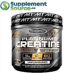 .MuscleTech PLATINUM 100% CREATINE (80 Servings), 400g
