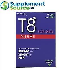 T8 VERVE FOR MEN (Testosterone Booster), 30 Caps