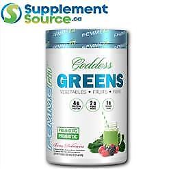 .Femme Fit GODDESS GREENS (320g), 32 Servings