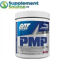 GAT PMP (Pre-workout with Caffeine), 30 Servings - Strawberry Banana