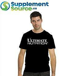 Ultimate Nutrition BLACK T-SHIRT - Large