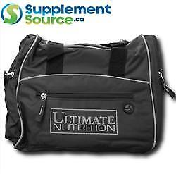 Ultimate Nutrition MINI GYM BAG - Black/Grey