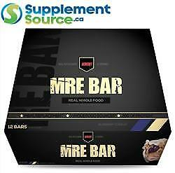 RedCon1 MRE BARS (Meal Replacement), 12 x 67g bars