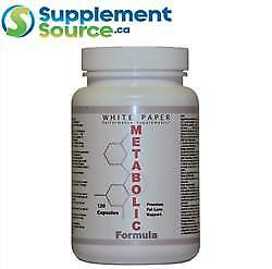 White Paper Supplements METABOLIC FORMULA, 120 Caps