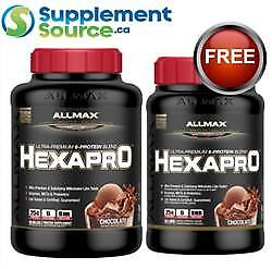 .Allmax HEXAPRO (Blend of 6 Proteins), 5.5lb + 3lb HEXAPRO FREE