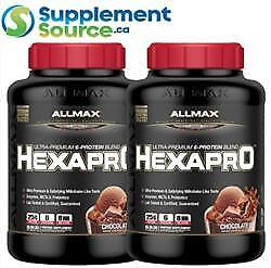 .Allmax HEXAPRO (Blended Protein), 5.5lb x 2