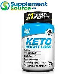 BPI KETO WEIGHT LOSS, 75 Caps