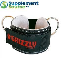 """Grizzly 3"""" LEATHER ANKLE CUFF 8600-04"""