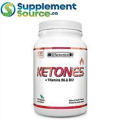 .SD Pharmaceuticals KETONES (BHB) + Vitamins B6 & B12, 120 VCaps