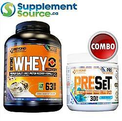 .  Beyond Yourself WHEY RECOVERY 5lb & PRESET COMBO