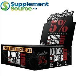 5% Nutrition KNOCK THE CARB OUT KETO BAR, 10 bars x 68g