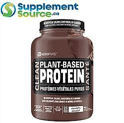 NutraPhase CLEAN PLANT-BASED PROTEIN, 25 Servings