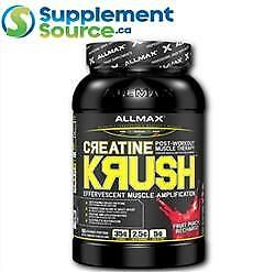Allmax CREATINE KRUSH (Post Work-Out), 3.3lb - Fruit Punch Recharge