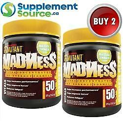 .Mutant MADNESS (50 Servings *SuperSize), 375g x 2