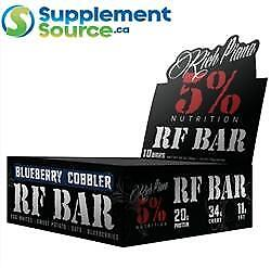 5% Nutrition REAL FOOD BARS, 10 x 70g