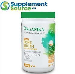 .Organika Health BONE BROTH PROTEIN, 300g - GINGER