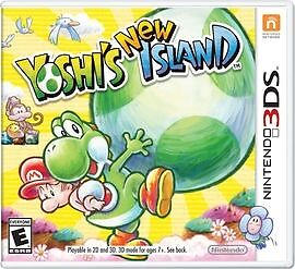 3DS games yoshis new island and yoshis wooly world