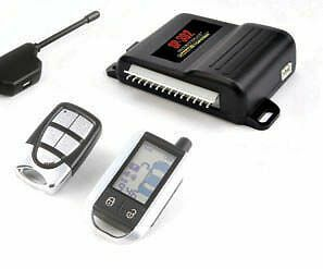 2-Way LCD Remote Starter w/ Alarm & Keyless Entry & Bypass