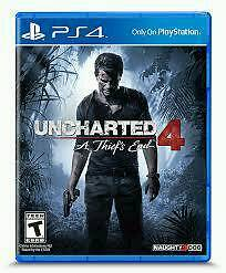 Uncharted 4 BRAND NEW SEALED £25 ONO