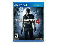 Uncharted 4 BRAND NEW SEALED £15 NO OFFERS