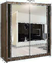 NEW SLIDING MIRRORED DOOR BERLIN WARDROBES IN DIFF SIZES AN COLORS***