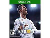FIFA 18 XBOX ONE SEALED