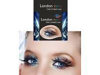 Coloured contact lens (London eyes)