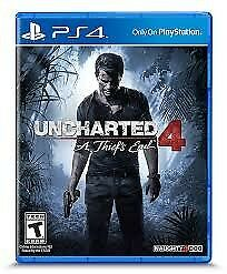 Uncharted 4 PS4 - quicksale or swap needed