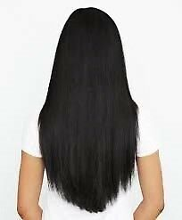 Off black hair extensions